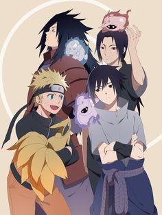 Naruto Uzumaki and the Uchiha