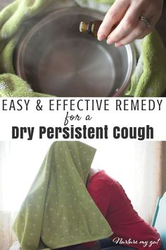 Easy and Effective Home Remedy for a Dry Persistent Cough If you're on the hunt for dry cough remedies then you've come to the right place. Try this dry cough remedy for your persistent dry cough and finally feel better. Best Cough Remedy, Cold And Cough Remedies, Home Remedy For Cough, Cold Home Remedies, Natural Remedies For Anxiety, Natural Health Remedies, Natural Cures, Natural Healing, Holistic Remedies