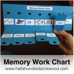 Half-a-Hundred Acre Wood: Memory Work Chart {Free Printable}