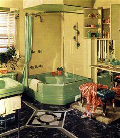 Art deco bathroom dream