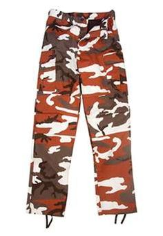 Ultra Force Red Camouflage BDU Pants  d7f2681724c
