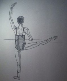 drawing of a dancer 3