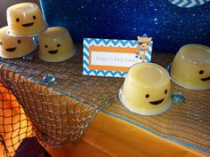 Octonauts party! {Kwazii's Kelp Cakes}