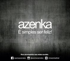 Azenka - É simples ser feliz!