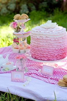 Little Big Company | The Blog: Tutu Tea Party by Sweet Sensation Cakes and Bella in Bloom