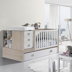 Modern Baby Nursery Furniture From Micuna – Baby Utensils Ideas Modern Nursery Furniture, Nursery Furniture Sets, Kids Furniture, Furniture Decor, Nursery Ideas, Wooden Furniture, Furniture Makeover, Baby Room Set, Baby Room Decor