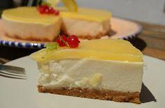 El Rincón de la Mariposa: Tarta Fría de Mascarpone y Lemon Curd