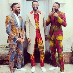 """The Men """"Them"""" all look gorgeous in the 2016 """"Czar & The Rabbi"""" S/S Collection by Kamsi Tcharles.  #obsessed_style #lookbook #Obsessed #fashion #style #KamsiTcharles #Czar #rabbi #2016#collection #actor #model #ChrisOkagbue #RicHassani #ClementOgeh #photography #Africa #nigeria #designer #Menswear #McM #Ankara #Nigeriadesigner #african #Africanwear #stylish #stylist #mensclothing #Men #mensFashion"""