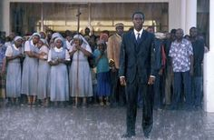 Don Cheadle - Hotel Rwanda, had to watch this for school, made me think a lot