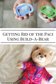 How to get rid of the pacifier or binky || Saying goodbye to the paci || How to say goodbye to things kids are attached to.