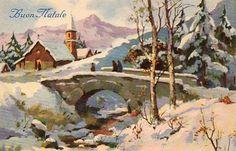 Cartoline d'epoca natalizie « Vitoronzo Pastore