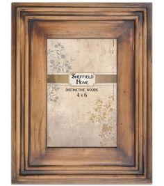 4x6 Walnut Groove Wood Frame, , hi-res