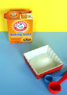 baking soda facial! 2 ingredients, and one of them is water.I add a little lavender oil to this and use it as a scrub