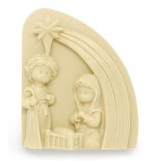 Molde Belén y Estrella, para #hacervelas en relieve, ideal para hacer con niños, les encantará. #diy