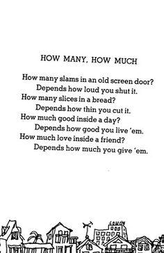 Shel Silverstein :).....loved his books when I was little