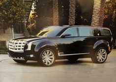 2013 CADILLAC ESCALADE ESV. I am going to be super disapointed the first time I see this ugly thing on the road.