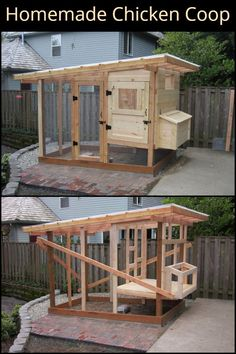 22 Low-Budget DIY Backyard Chicken Coop Plans Keeping chicken in the backyard is really fun, as you will always have fresh eggs and cute pets at home. So if you have a little free space, you could consider building a chicken coop, even though you are only Chicken Coop Designs, Cute Chicken Coops, Chicken Coup, Chicken Coops Homemade, Backyard Chicken Coop Plans, Portable Chicken Coop, Building A Chicken Coop, Chickens Backyard, Chicken Coop Pallets