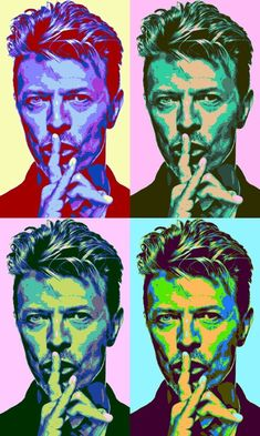 David Bowie by Andy Warhol Angela Bowie, David Bowie Poster, David Bowie Art, Rock And Roll, Pop Rock, Paul Banks, Art Music, Music Artists, Mayor Tom