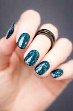 20 Uñas decoradas elegantes para usar en fiestas   Decoración de Uñas - Manicura y Nail Art