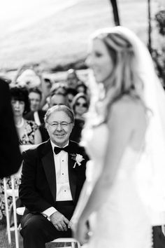 our wedding. ceremony. pictures. photography. father of the bride. inn at erlowest. lake george. photo by tracey buyce photography.