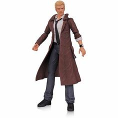 DC Comics New 52 Justice League Dark Constantine Action Figure, Multicolor