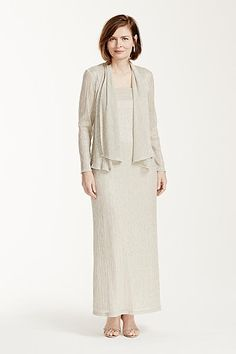 Alex Evenings Twin Set and Skirt Mother of the Bride dress #Dillards ...