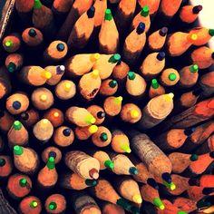 Crayons de couleur. #mexico #mexicocity