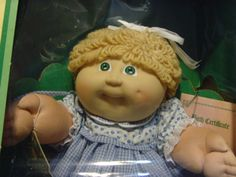 Vintage 1985 Cabbage Patch Kid Doll by Xavier by TheShopOfShelby