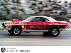 "Billy ""the Kid"" Stepp's Pro Stock Dodge Challenger...   Dick Humbert  Driver........"