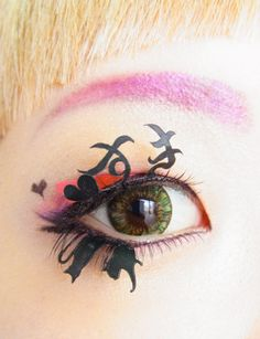 Meow-mew,I'm a cat lover!=^..^=  --kawaii matsuge*CAT+LOVE OR HATE*Paper false eyelashes.