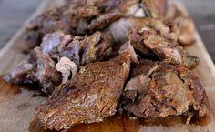skinnymixer's Slow Cooked Greek Lamb - HCG friendly
