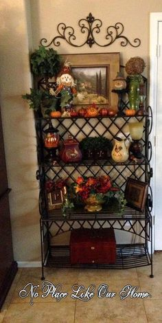 1000 ideas about bakers rack decorating on pinterest