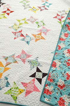 Round & Round, pattern and quilt by Camille Roskelley