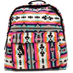 Southwest Trip Backpack ($23) ❤ liked on Polyvore