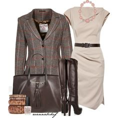 Style: Boardroom to Cocktails by wannabchef on Polyvore
