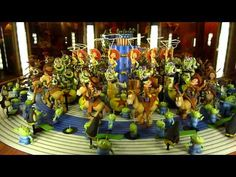 Disneyland California Adventure Toy Story 3D Animation Zoetrope in HD! I saw this when I was there, and it's so cool!
