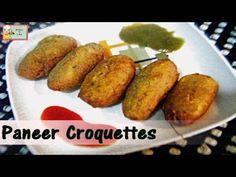 Paneer Bread Croquettes