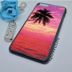 Sunset Beach with Palm iPhone 6 Plus | 6S Plus Case