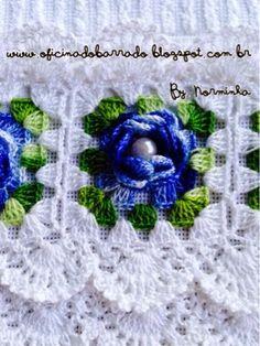 OFICINA DO BARRADO: Croche - Minha versão de um diversificado BARRADO ...