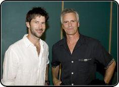 Joe Flanigan and Richard Dean Anderson.  I love Stargate Atlantis as well as Stargate