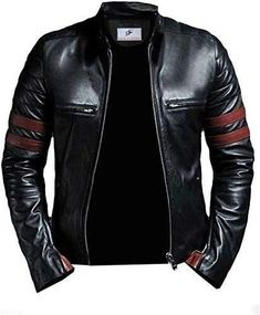 Leather Jacket Outfits, Faux Leather Jackets, Leather Coats, Biker Leather, Soft Leather, Black Leather, Bad Boy Style, Types Of Jackets, Jacket Style