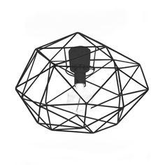 Diamond ceiling lamp from Globen Lighting by Patrick Hall Ceiling Lamp, Ceiling Lights, Metal Bar, Scandinavian Design, Lighting Design, Different Colors, Sweet Home, Room Decor, Shapes