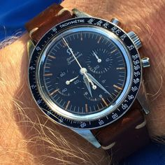 Vintage OMEGA Speedmaster CK2998 Calibre 321 Moonwatch In Stainless Steel Circa 1960s - https://omegaforums.net Omega Speedy Speedypro Speedmaster Speedmasterpro Menswear Mensfashion Wristshot Womw Wruw Horology Classic Timeless Watches Watchporn Fashion Style Preppy Montres Uhren Orologio Chrono Chronograph Vintage Moon Moonwatch NASA Space Apollo Apollo11