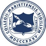 "The seal of Marietta College, the first institution where I took college courses, shares the words ""Lux"" and ""Veritas"" with Yale University and North Central College. While the Yale book emphasizes ""Veritas"" and the NCC icongraphy depicts both light and truth, in this shield we see a more literal interpretation of ""Lux"". Rather than being held aloft -- as seen in the symbols for Colgate, NYU, and DeVry -- the torch is being passed while being held in an unusual fashion, from left hand to…"
