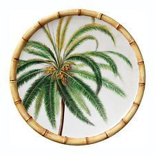 Bamboo Palm 9 in. Salad Plate