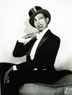 "Josephine Baker c. 1933; Josephine Baker was an American-born French dancer, singer, and actress who came to be known in various circles as the ""Black Pearl,"" ""Bronze Venus"" and even the ""Creole Goddess""."