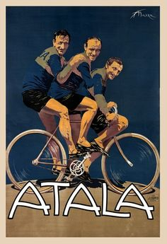 Atala Bicycle Poster 11x17 by BicyclePosters on Etsy, $29.00