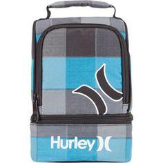 HURLEY Blue Checks Lunch Box #PaperMateBTS