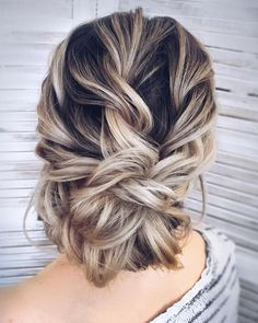 messy updo hairstyle ,swept back bridal hairstyle ,updo hairstyles ,wedding hairstyles #weddinghair #hairstyles #updo #weddinghairstyles