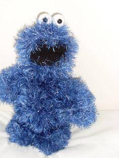 Cookie Monster (loads of pics) - CROCHET